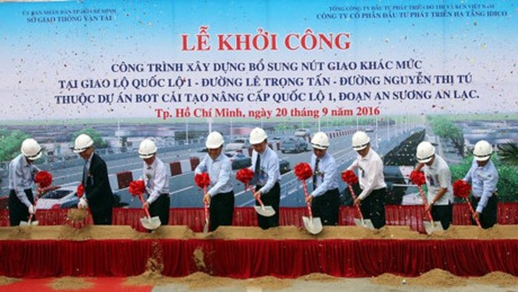 Hon 500 ty dong xay dung nut giao Go May - QL1A - Anh 1